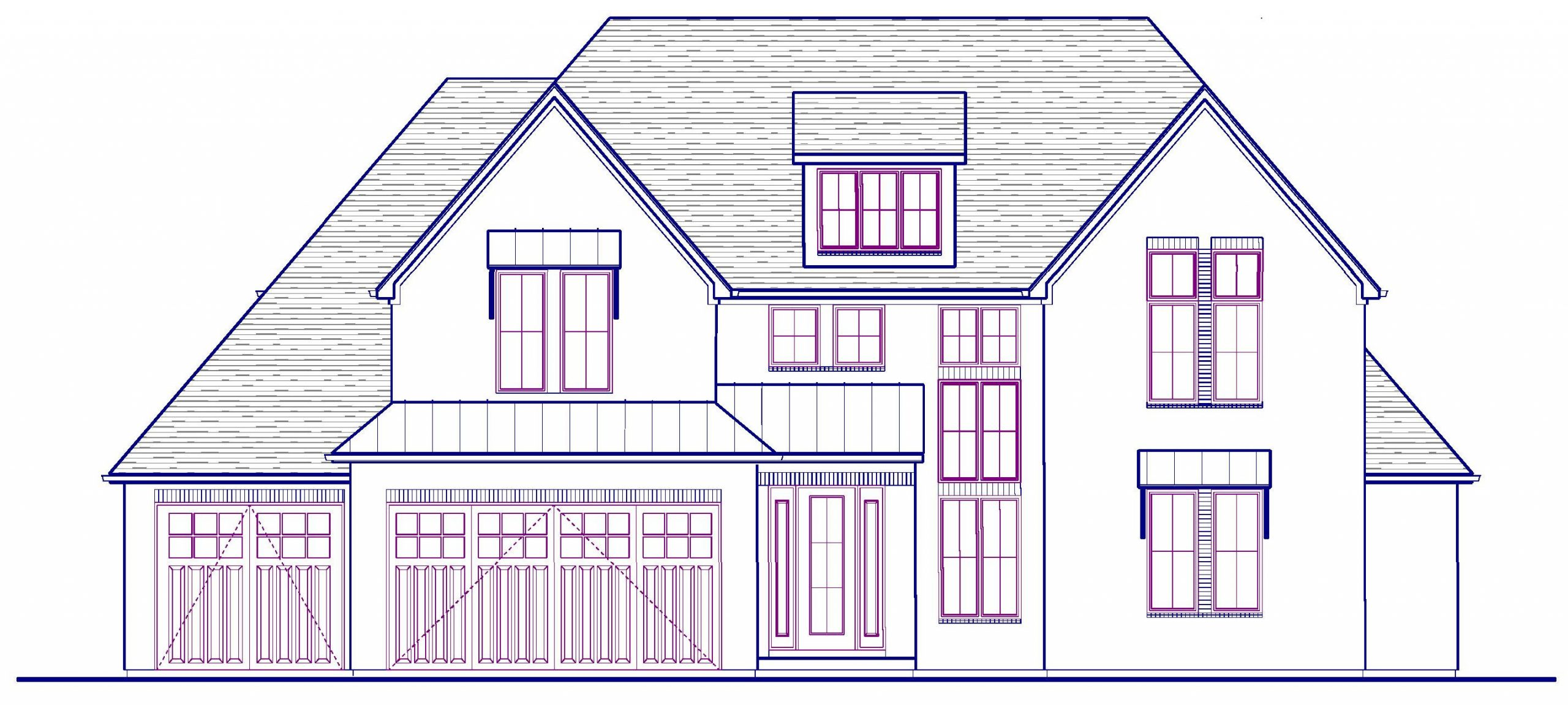 Front View Plan – Hadley